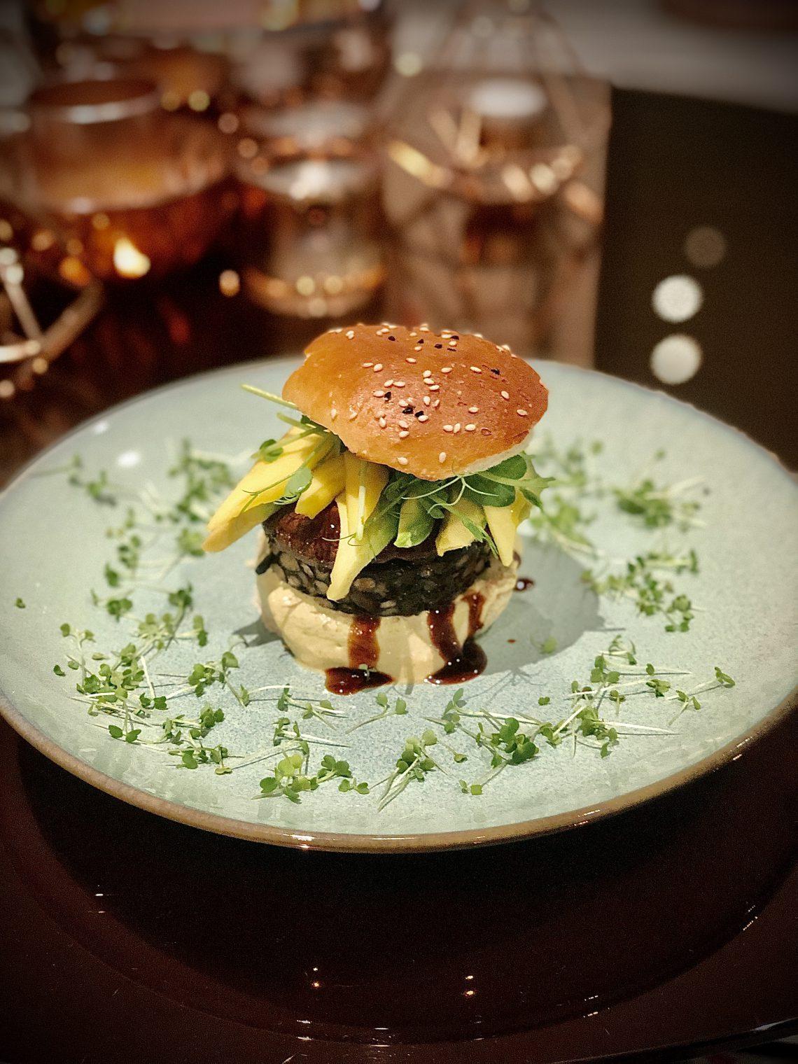 Vegetarischer Mini Burger